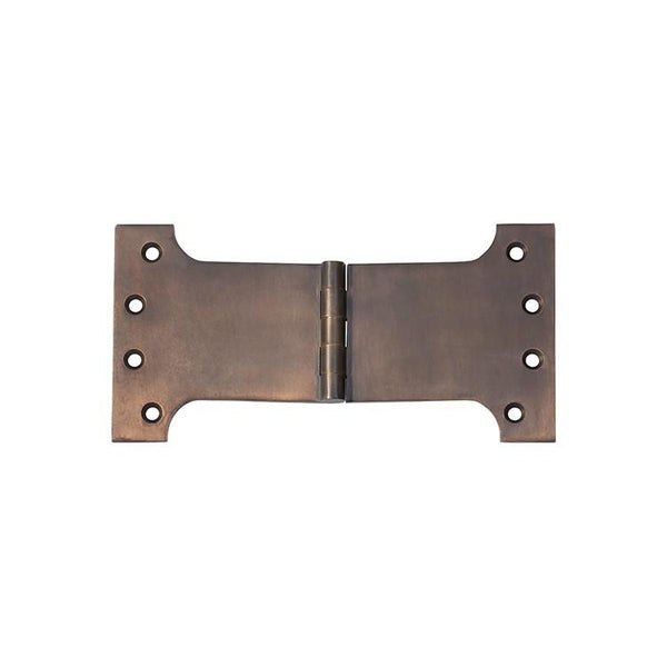 Tradco 'HINGE - PARLIAMENT' Antique Brass 2384 100mm x 200mm