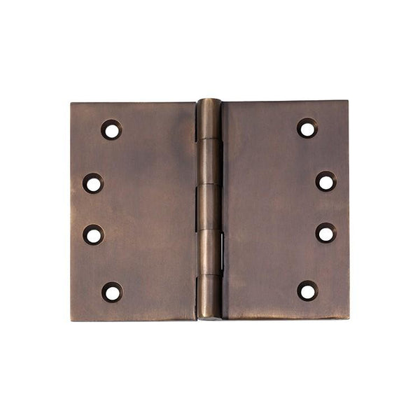 Tradco 'HINGE - BROAD BUTT' Antique Brass 2390 100mm x 125mm