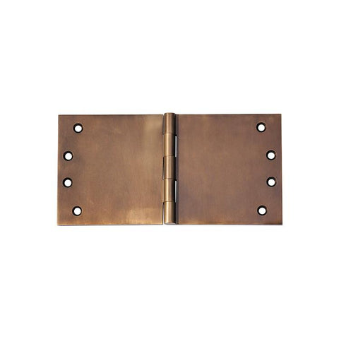 Tradco 'HINGE - BROAD BUTT' Antique Brass 2393 100mm x 200mm