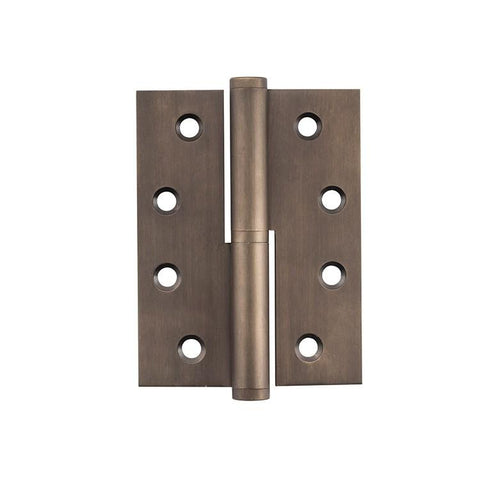 Tradco 'HINGE - LIFT OFF RH' Antique Brass 2395 100mm x 75mm