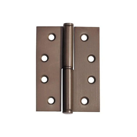 Tradco 'HINGE - LIFT OFF LH' Antique Brass 2396 100mm x 75mm