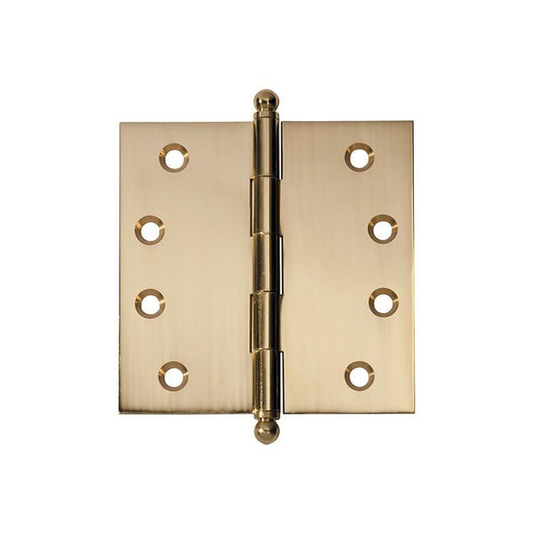 Tradco 'HINGE - LOOSE PIN' Polished Brass 2479 100mm x 100mm