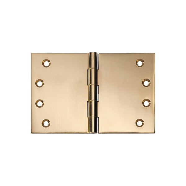 Tradco 'HINGE - BROAD BUTT' Polished Brass 2491 100mm x 150mm