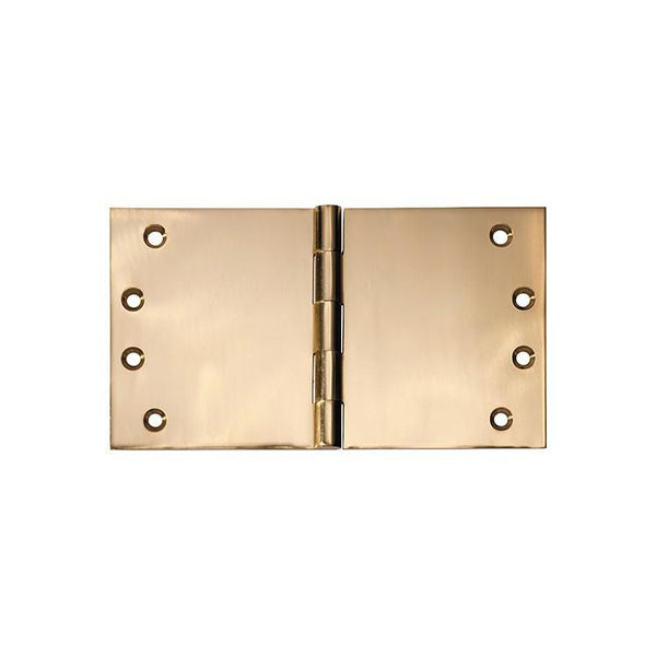 Tradco 'HINGE - BROAD BUTT' Polished Brass 2492 100mm x 175mm