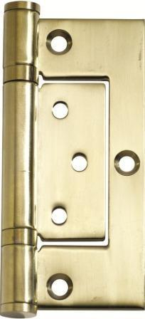 Tradco 'HINGE - HIRLINE' Polished Brass 2497 100mm x 49mm