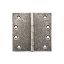 Tradco 'FIXED PIN HINGE' RUMBLED NICKEL