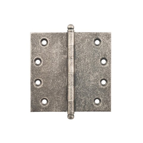 Tradco Hinge Loose Pin Rumbled Nickel H100 x W100mm 2529