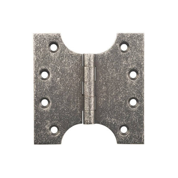 Tradco Hinge Parliament Rumbled Nickel H100 x W100mm 2530