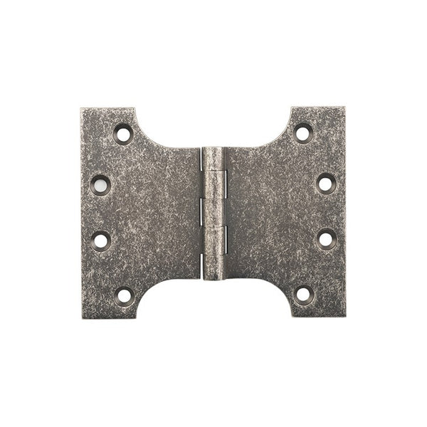 Tradco Hinge Parliament Rumbled Nickel H100 x W125mm 2531