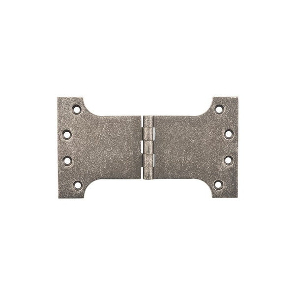 Tradco Hinge Parliament Rumbled Nickel H100 x W175mm 2533