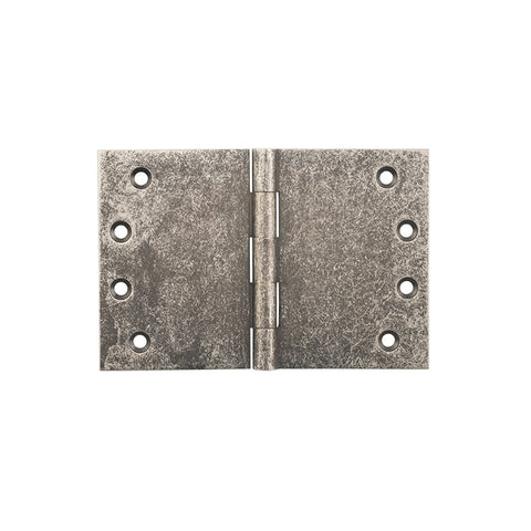 Tradco 'BROAD BUTT HINGE' Rumbled Nickel H100 x W150mm 2541