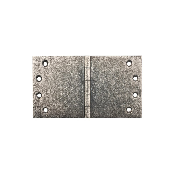 Tradco 'BROAD BUTT HINGE' Rumbled Nickel H100 x W175mm 2542