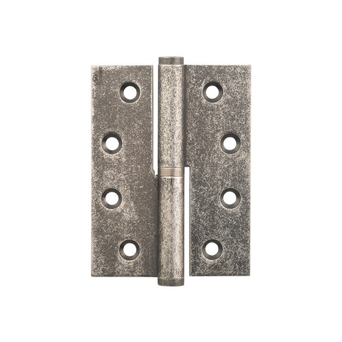 Tradco Hinge Lift Off Right Hand Rumbled Nickel H100 x W75mm 2545