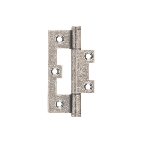 Tradco Hinge Hirline Rumbled Nickel H89 x W35mm 2548