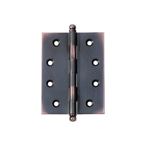 Tradco 'HINGE - LOOSE PIN' Antique Copper 2578 100mm x 75mm