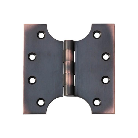Tradco 'HINGE - PARLIAMENT' Antique Copper 2580 100mm x 100mm