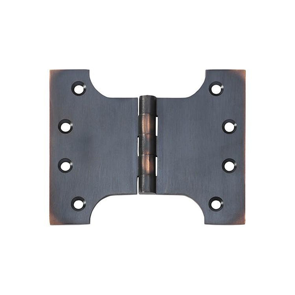 Tradco 'HINGE - PARLIAMENT' Antique Copper 2581 100mm x 125mm