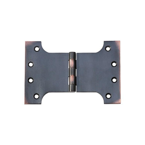Tradco 'HINGE - PARLIAMENT' Antique Copper 2582 100mm x 150mm