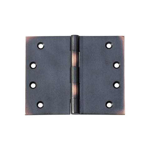 Tradco 'HINGE - BROAD BUTT' Antique Copper 2590 100mm x 125mm