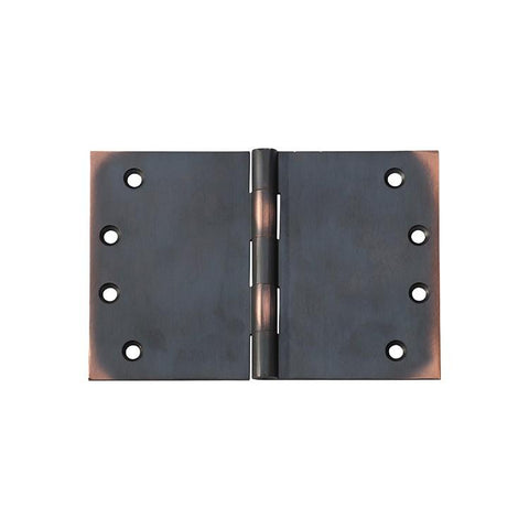 Tradco 'HINGE - BROAD BUTT' Antique Copper 2591 100mm x 150mm