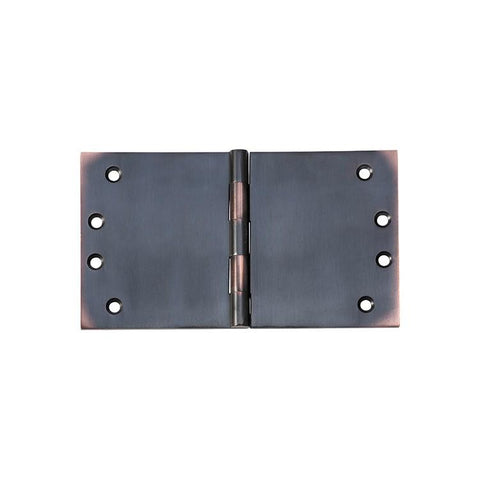 Tradco 'HINGE - BROAD BUTT' Antique Copper 2592 100mm x 175mm