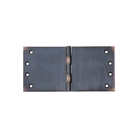Tradco 'HINGE - BROAD BUTT' Antique Copper 2593 100mm x 200mm