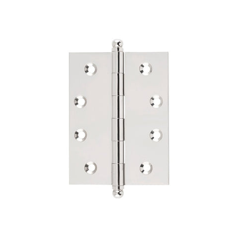 Tradco Hinge Loose Pin Polished Nickel H100 x W75mm 2628
