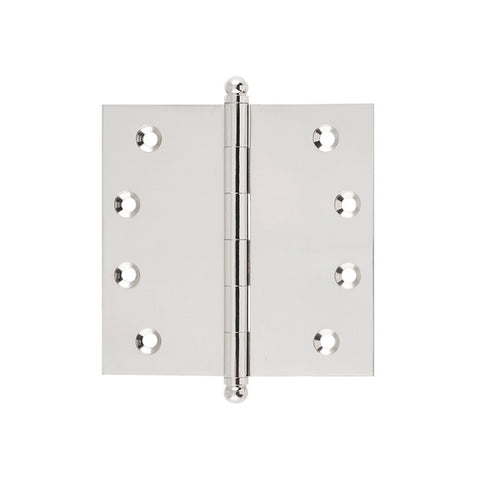 Tradco Hinge Loose Pin Polished Nickel H100 x W100mm 2629