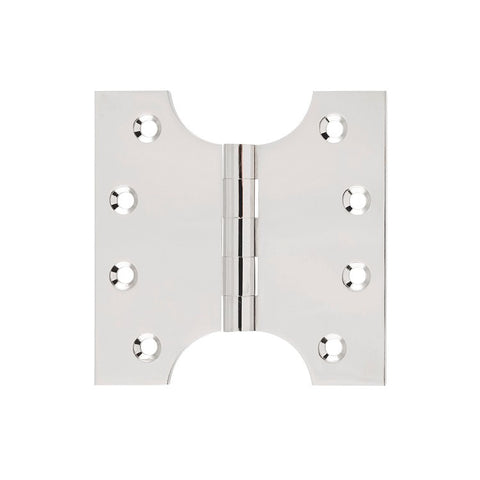 Tradco Hinge Parliament Polished Nickel H100 x W100mm 2630