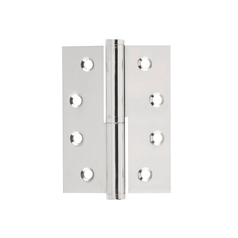 Tradco Hinge Lift Off Right Hand Polished Nickel H100 x W75mm 2645