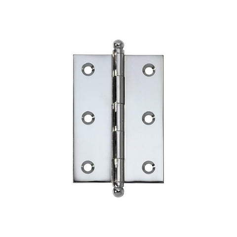 Tradco 'HINGE - LOOSE PIN' Chrome Plate 2675 85mm x 60mm