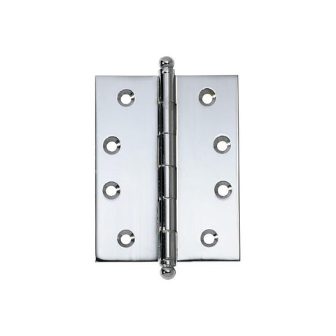 Tradco 'HINGE - LOOSE PIN' Chrome Plate 2678 100mm x 75mm