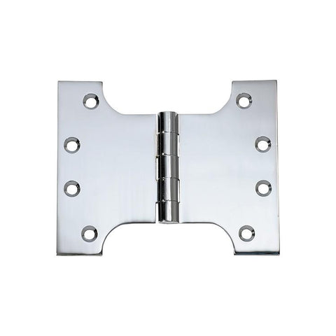 Tradco 'HINGE - PARLIAMENT' Chrome Plate 2681 100mm x 125mm