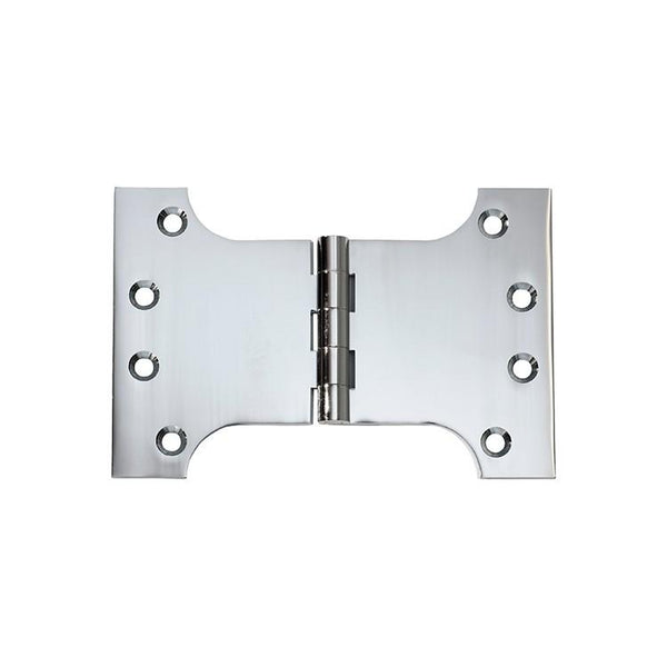 Tradco 'HINGE - PARLIAMENT' Chrome Plate 2682 100mm x 150mm