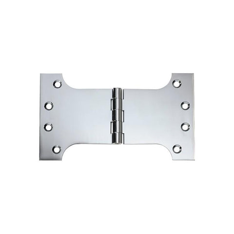 Tradco 'HINGE - PARLIAMENT' Chrome Plate 2683 100mm x 175mm