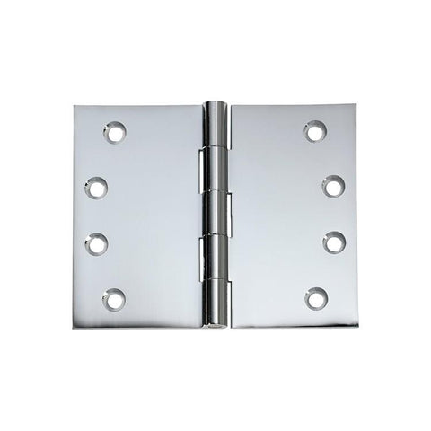 Tradco 'HINGE - BROAD BUTT' Chrome Plate 2690 100mm x 125mm