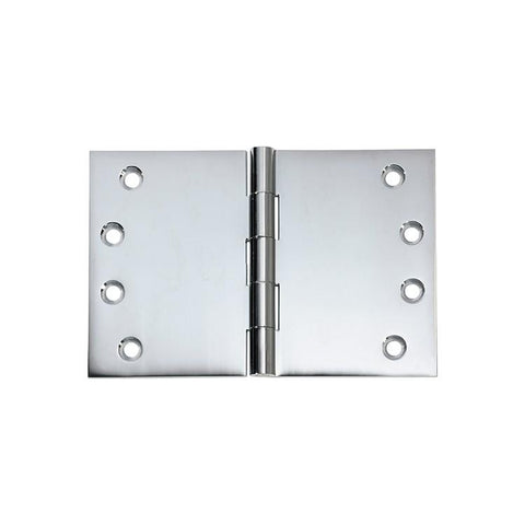 Tradco 'HINGE - BROAD BUTT' Chrome Plate 2691 100mm x 150mm