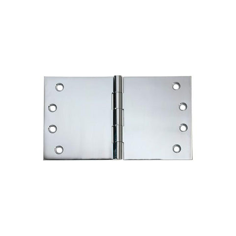 Tradco 'HINGE - BROAD BUTT' Chrome Plate 2692 100mm x 175mm