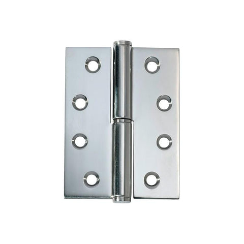 Tradco 'HINGE - LIFT OFF RH' Chrome Plate 2695 100mm x 75mm