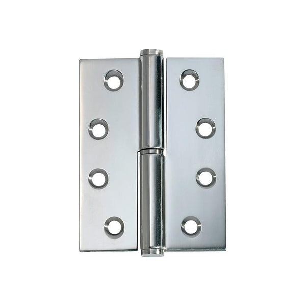 Tradco 'HINGE - LIFT OFF LH' Chrome Plate 2696 100mm x 75mm