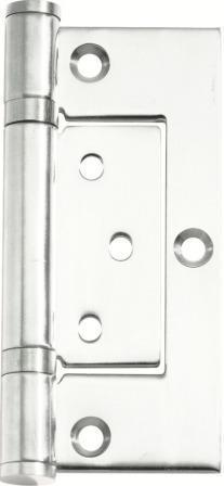 Tradco 'HINGE - HIRLINE' Chrome Plate 2697 100mm x 49mm
