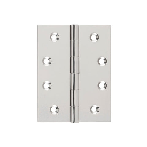 Tradco Hinge Fixed Pin Satin Nickel H100mm x W75mm 2723