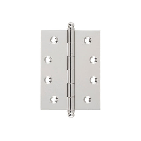 Tradco Hinge Loose Pin Satin Nickel H100mm x W75mm 2728