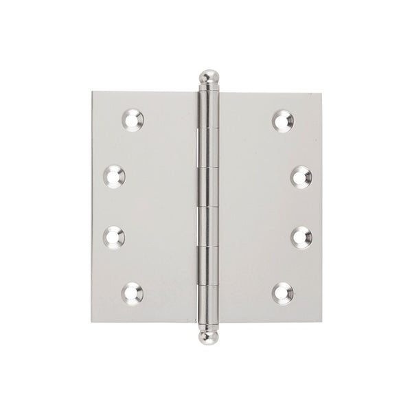 Tradco Hinge Loose Pin Satin Nickel H100mm x W100mm 2729