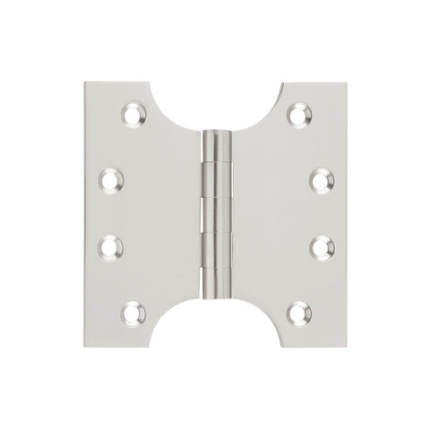 Tradco Hinge Parliament Satin Nickel H100mm x W125mm 2730