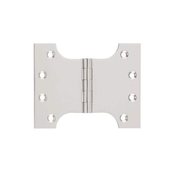 Tradco 'PARLIAMENT HINGE' Satin Nickel H100 x W125 2731