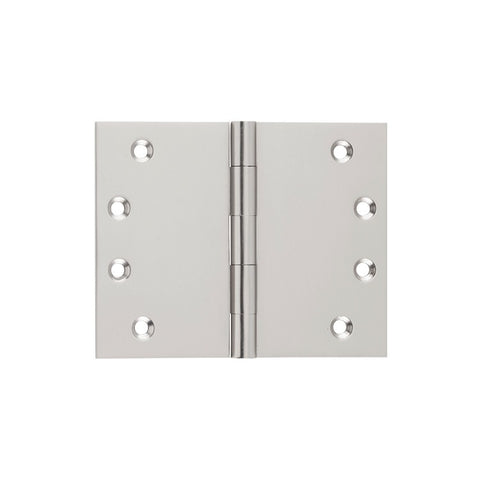 Tradco 'BROAD BUTT HINGE' Satin Nickel H100 x W125mm 2740