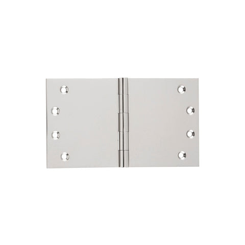 Tradco 'BROAD BUTT HINGE' Satin Nickel H100 x W175mm 2742