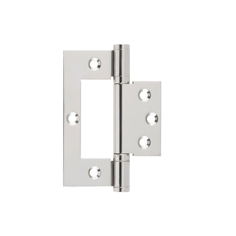 Tradco Hinge Hirline Satin Nickel H100mm x W49mm 2747