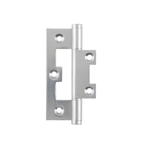 Tradco Hinge Hirline Satin Nickel H89mm x W35mm 2748